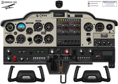 Cessna T206H Turbo Stationair Cockpit Poster with Garmin G1000 Nav III